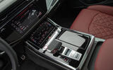 Audi SQ8 2019 road test review - centre console