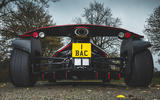 BAC Mono 2018 review - exhaust