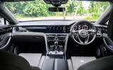 Bentley Flying Spur 2020 road test review - dashboard