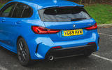 BMW 1 Series 118i 2019 road test review - rear end