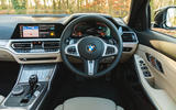 BMW 3 Series Touring 2020 road test review - dashboard