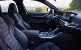 10 BMW i4 M50 2021 first drive review cabin