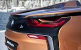 BMW i8 Roadster 2018 review rear lights