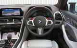 BMW M8 Competition coupe 2020 road test review - dashboard
