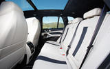 BMW X5 M Competition 2020 road test review - rear seats