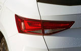 Cupra Ateca 2019 road test review - rear lights