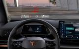 10 Cupra Born 2021 first drive review headsup display