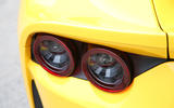 Ferrari 812 Superfast 2018 road test review rear lights