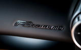 Ferrari F8 Tributo 2019 road test review - dashboard label