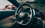 Ferrari Roma 2020 road test review - dashboard