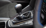 Ford Focus RS 2019 road test review - gearstick