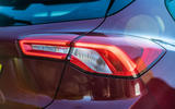Ford Focus ST-line X 2019 road test review - rear lights