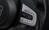 Honda Jazz 2020 road test review - steering wheel button