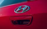 Hyundai i10 2020 road test review - boot handle