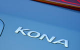 Hyundai Kona Electric 2018 road test review - boot badge
