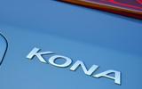 Hyundai Kona Electric 2018 road test review - boot badge