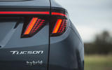 10 Hyundai Tucson 2021 road test review rear lights