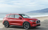 Infiniti QX50 2018 review - front static
