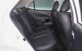 Kia Picanto review rear seats