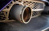 Lamborghini Aventador SVJ 2019 road test review - exhaust tips