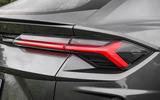 Lamborghini Urus 2019 road test review - rear lights