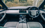 10 Land Rover Range Rover Evoque 2021 road test review dashboard