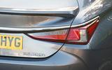 Lexus ES 2019 road test review - rear lights