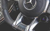Mercedes-AMG C63 Coupé 2019 road test review - steering wheel controls