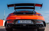 Mercedes-AMG GT Black Series road test review - exhausts