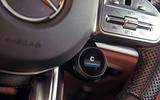 Mercedes-AMG GT four-door Coupé 2019 road test review - steering wheel controls