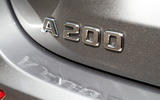 Mercedes-Benz A-Class 2018 road test review boot badge
