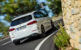 Mercedes-Benz B-Class review - cornering rear