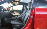 Mercedes-Benz CLA 2019 road test review - front seats