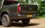 Mercedes-Benz X-Class road test review rear end