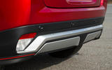 Mitsibushi Eclipse Cross 2018 review rear bumper
