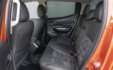 Mitsubishi L200 2019 road test review - rear seats