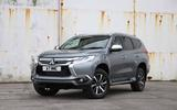 Mitsubishi Shogun Sport 2018 road test review static front