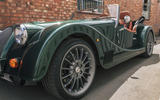 Morgan Plus Six 2019 road test review - alloy wheels