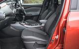 Nissan Juke 2020 road test review - cabin