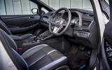Nissan Leaf 2018 UK review cabin
