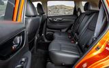 Nissan X-Trail road test review - rear seats legroom