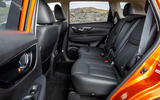 Nissan X-Trail road test review - rear seats legroom