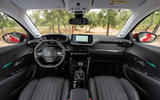 Peugeot 208 2020 road test review - cabin