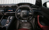 Peugeot 508 SW 2019 review - steering wheel