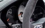 Porsche 718 Boxster GTS 4.0 2020 road test review - instruments