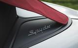 Porsche 718 Spyder 2020 road test review - roof details