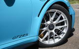 Porsche 911 GT2 RS 2018 road test review front alloys