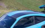 Porsche 911 GT2 RS 2018 road test review roof