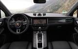Porsche Macan Turbo 2019 road test review - cabin