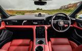 Porsche Taycan 2020 road test review - dashboard